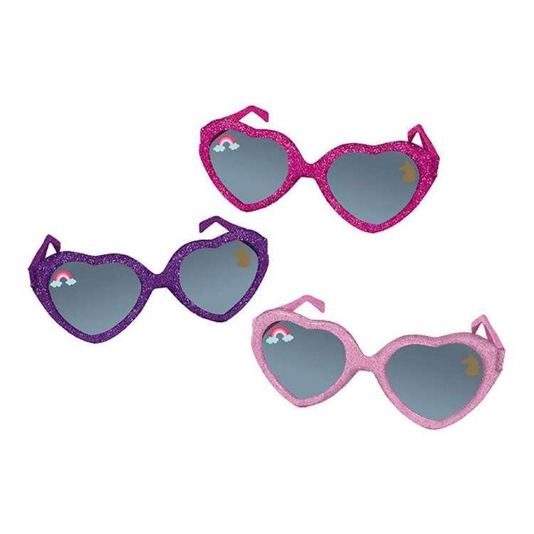Amscan Magical Unicorn Glitter Glasses 6 Pack