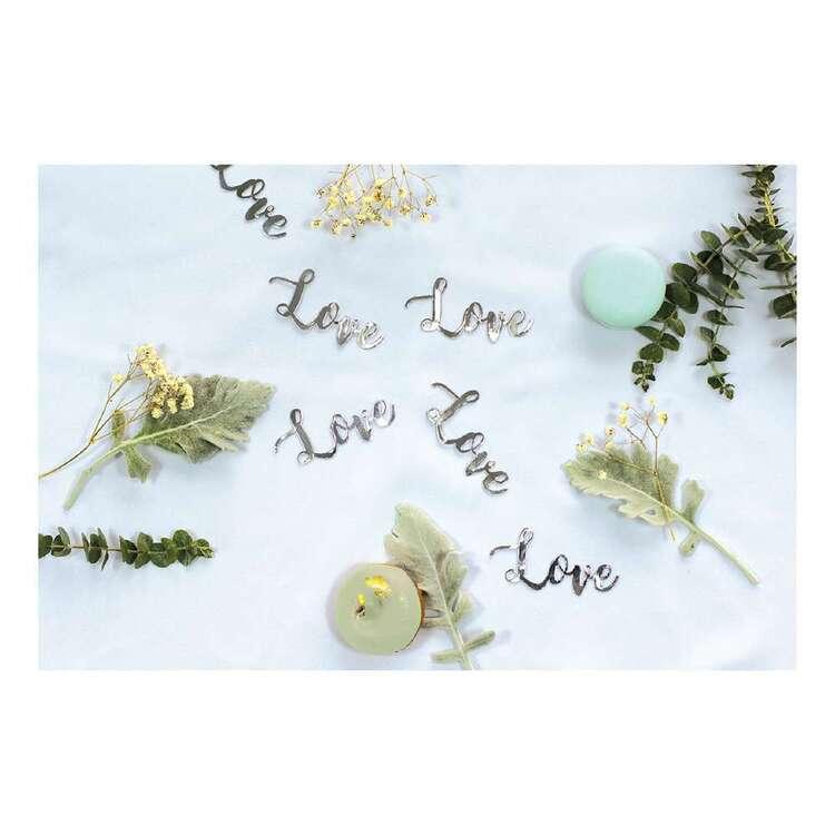 Five Star Love Foil Jumbo Confetti 20 Pack