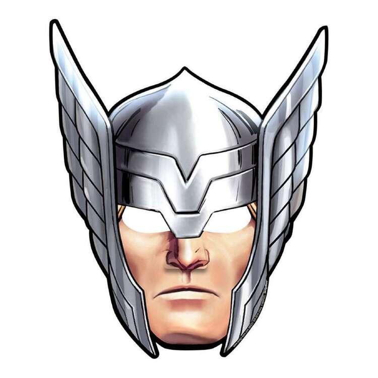 Amscan Avengers Epic Paper Masks 8 Pack