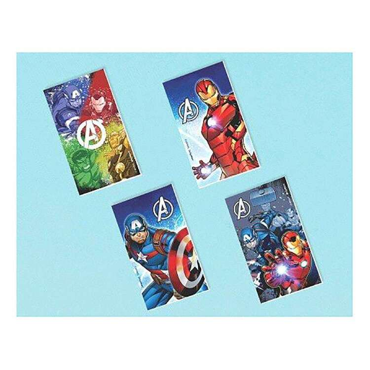 Amscan Avengers Epic Notepads 12 Pack