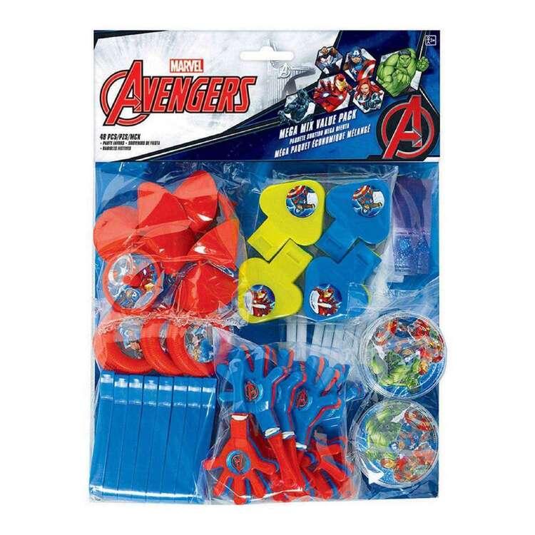 Amscan Avengers Epic Mega Mix Favour Value Pack