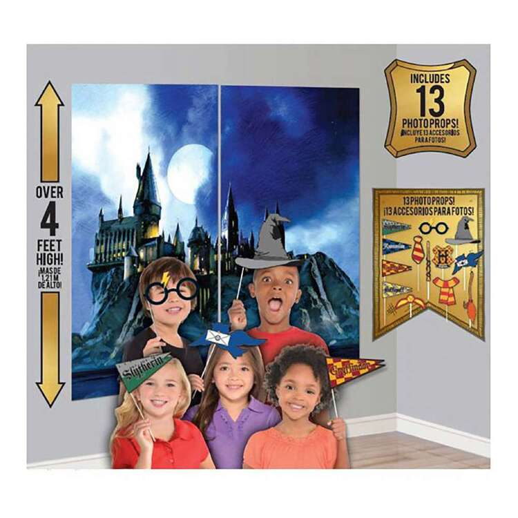 Amscan Harry Potter Scene Setter With Props