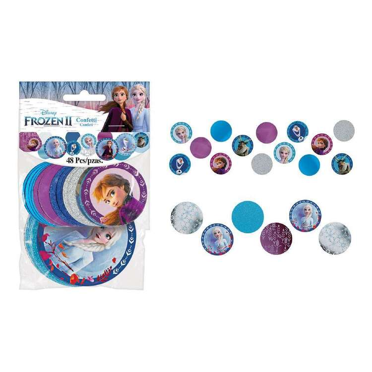 Amscan Frozen 2 Giant Confetti Circles 48 Pack
