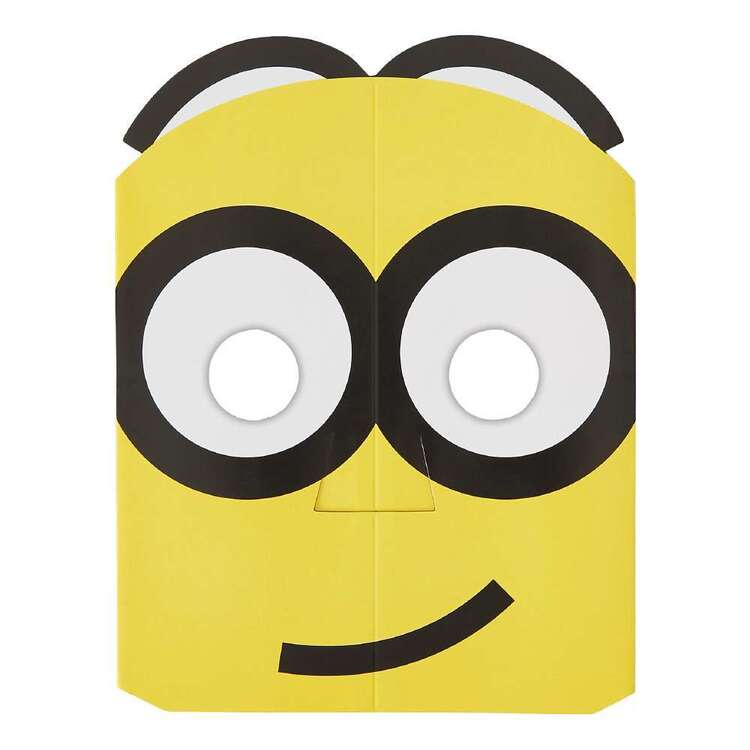 Amscan Despicable Me 3 Paper Masks 8 Pack Multicoloured