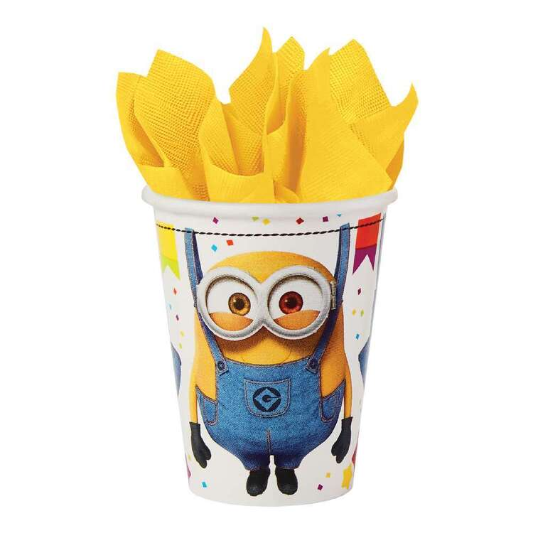 Amscan Despicable Me 3 266 ml Cups