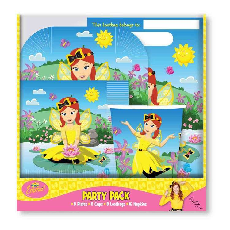 Amscan The Wiggles Emma Party Pack