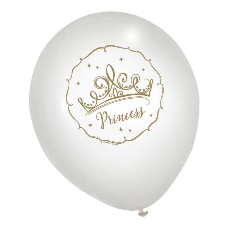 Amscan Disney Princess Once Upon A Time Latex Balloons 6 Pack