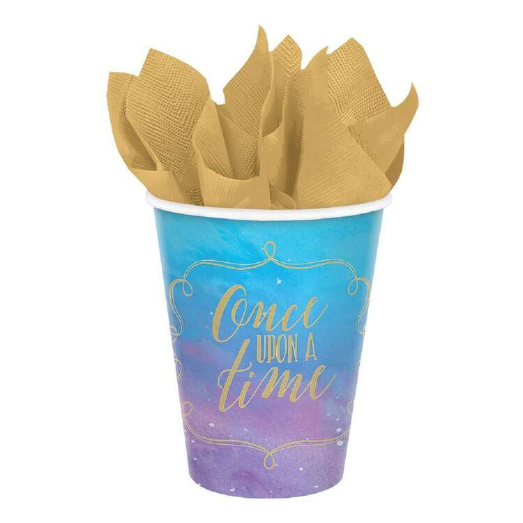 Amscan Disney Princess Once Upon A Time Paper Cups 8 Pack