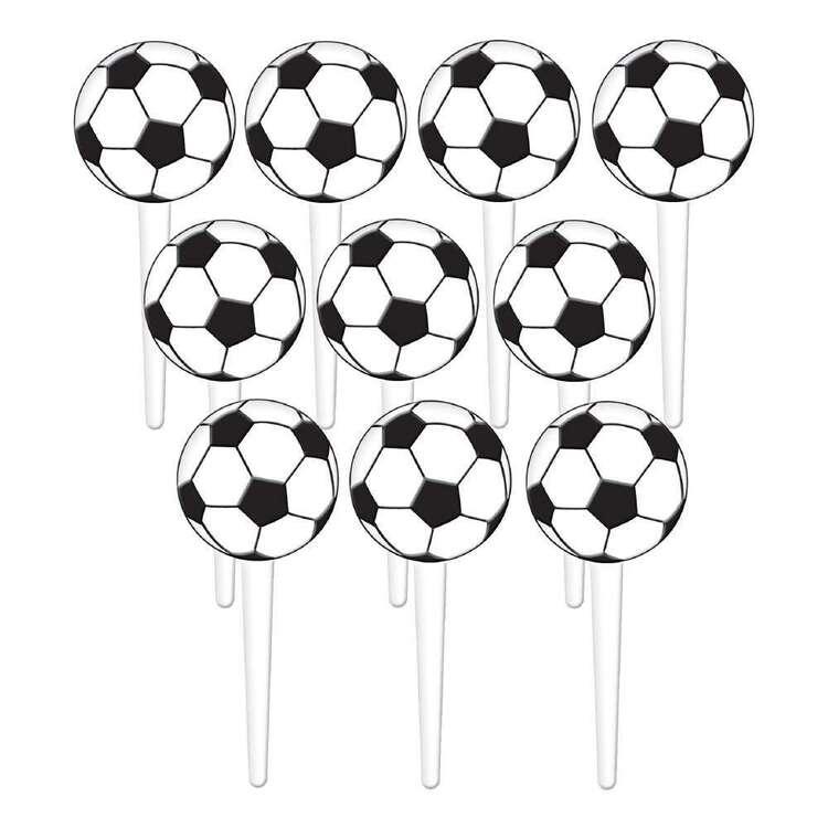 Amscan Soccer Fan Plastic Picks
