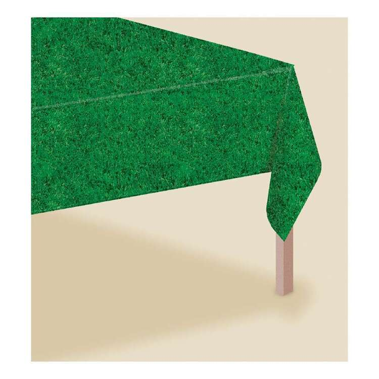 Amscan Grass Look Table Cover