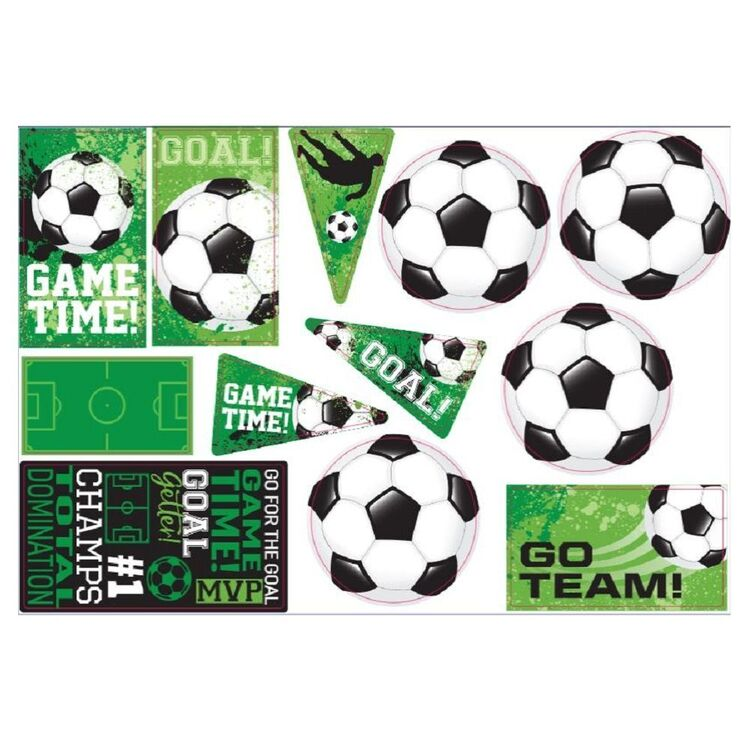 Amscan Goal Getter Cut Outs 12 Pack