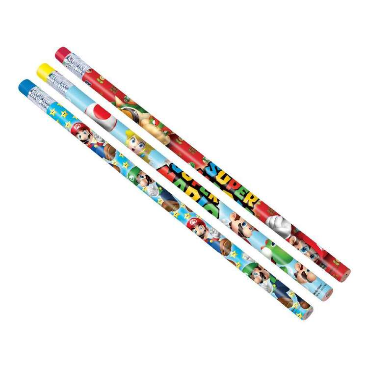 Amscan Super Mario Bros Pencils 12 Pack