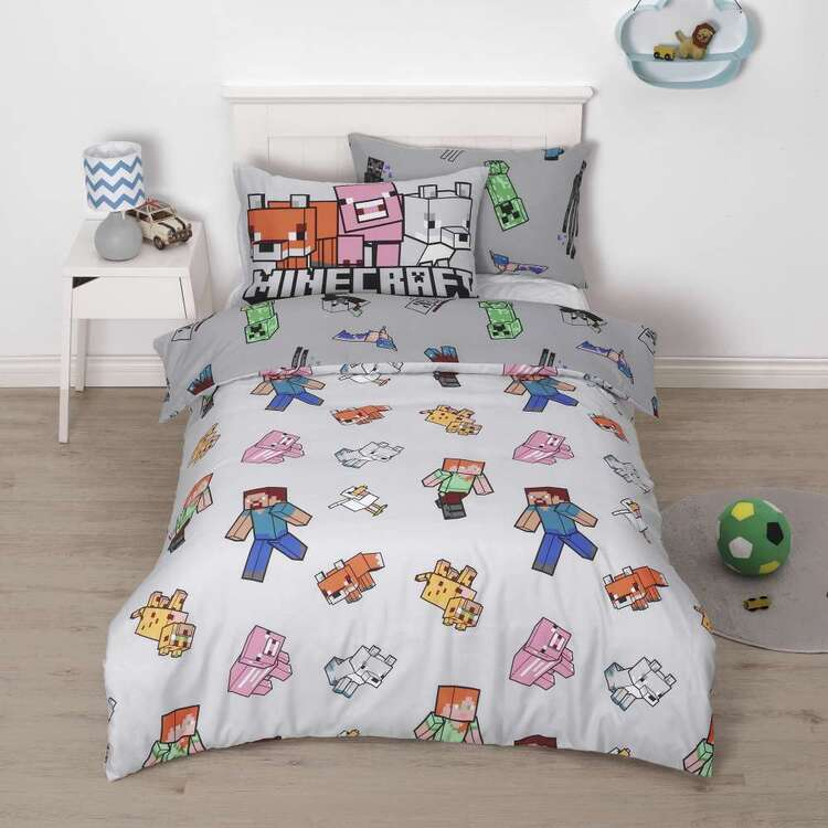 Minecraft Mob Quilt Cover Set
