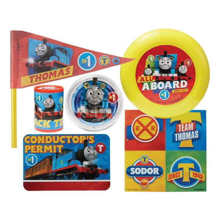 Amscan Thomas All Aboard Mega Mix Favour Value Pack