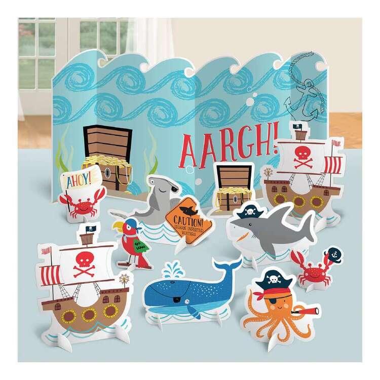 Amscan Ahoy Birthday Table Decorations Kit