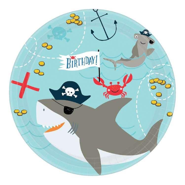 Ahoy Birthday Round Plates