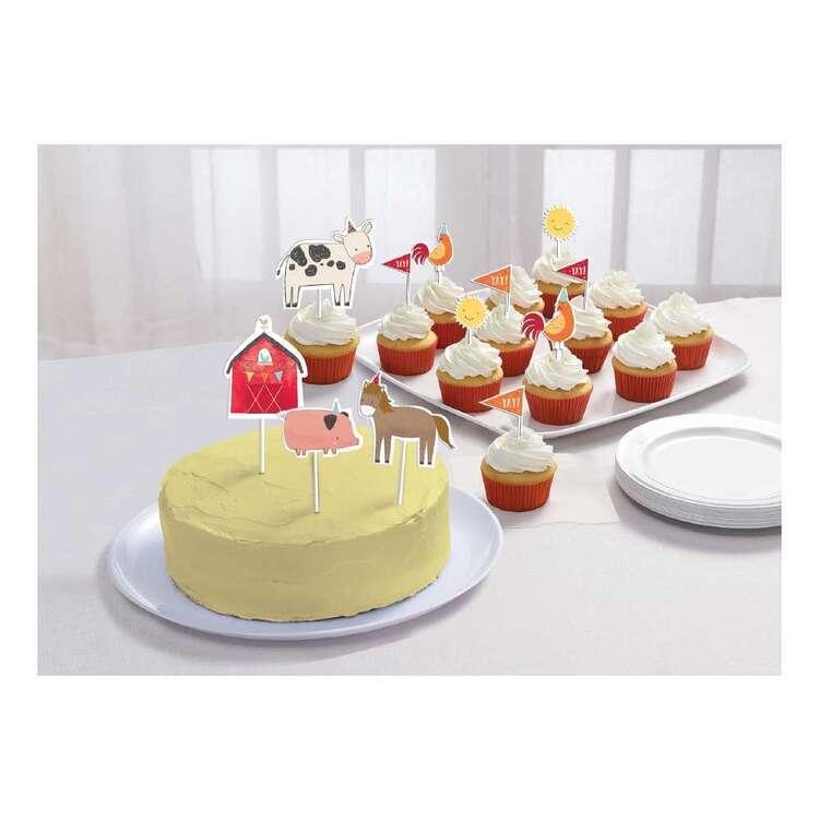 Amscan Barnyard Birthday Cake Topper Kit