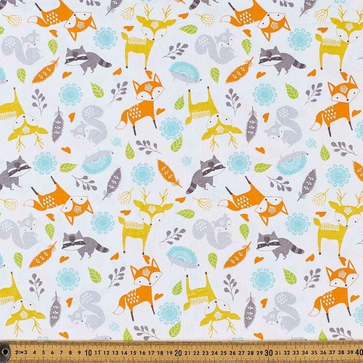 Fox & Friends Cotton Fabric