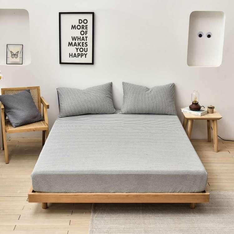 KOO Jersey Pinstripe Sheet Set