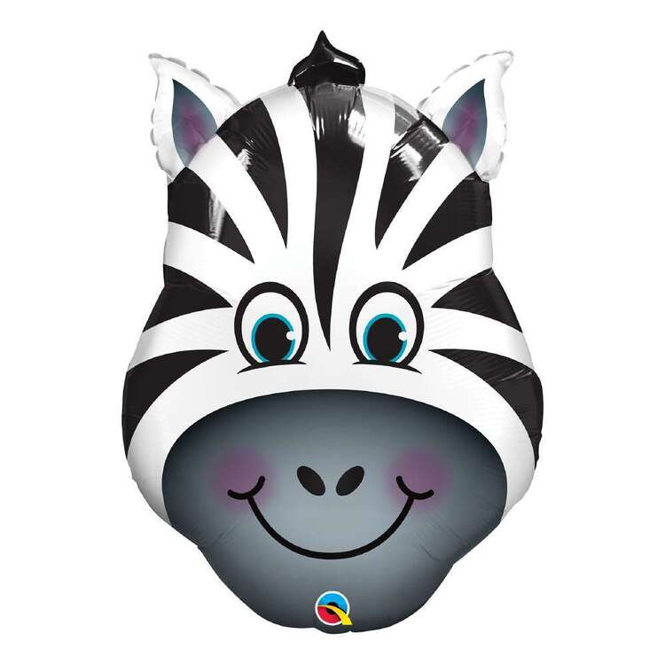 Qualatex Zany The Zebra Foil Balloon