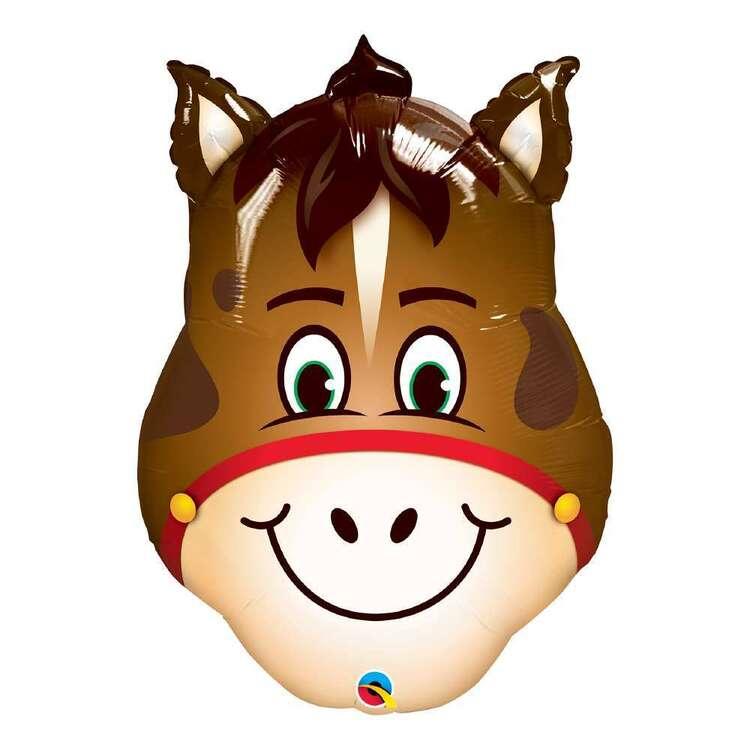 Qualatex Hilarious Horse Foil Balloon