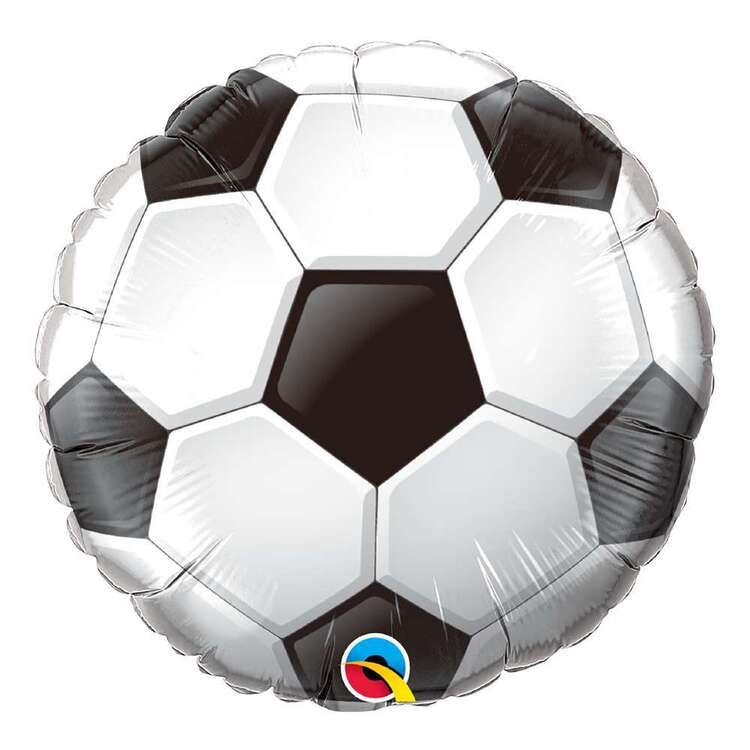 Qualatex Soccer Ball Round Foil Balloon