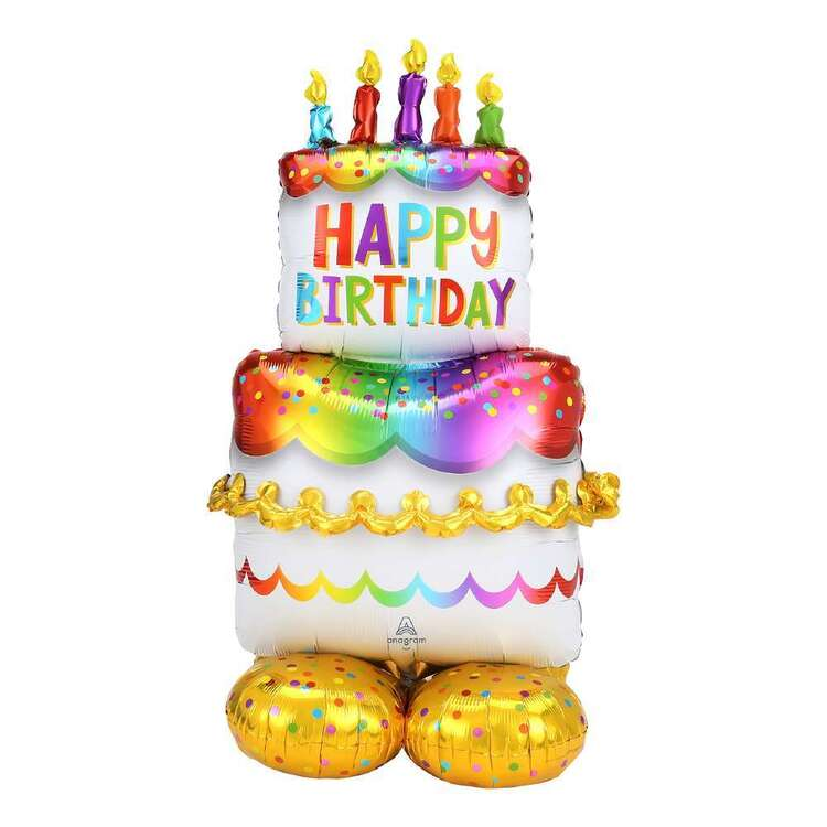 Anagram Airloonz Birthday Cake Balloon