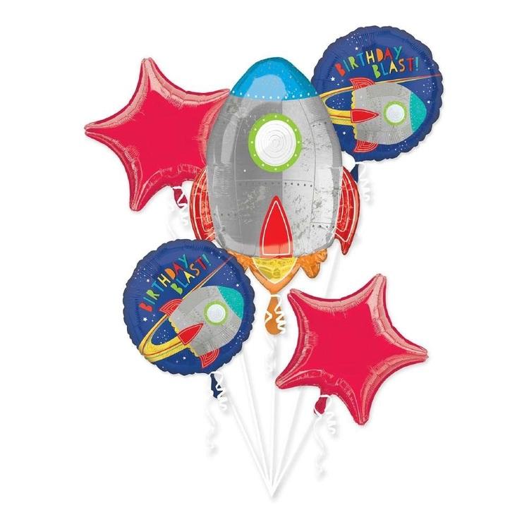 Anagram Blast Off Balloon Bouquet