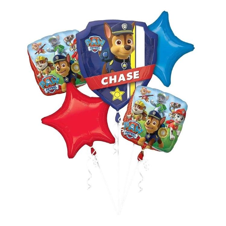 Anagram Paw Patrol Balloon Bouquet