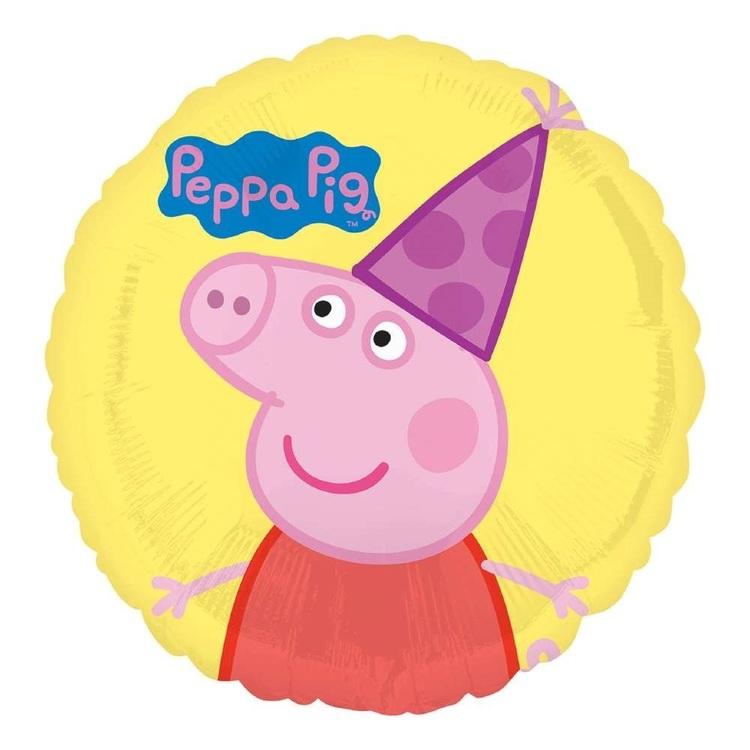 Anagram Peppa Pig Foil Balloon