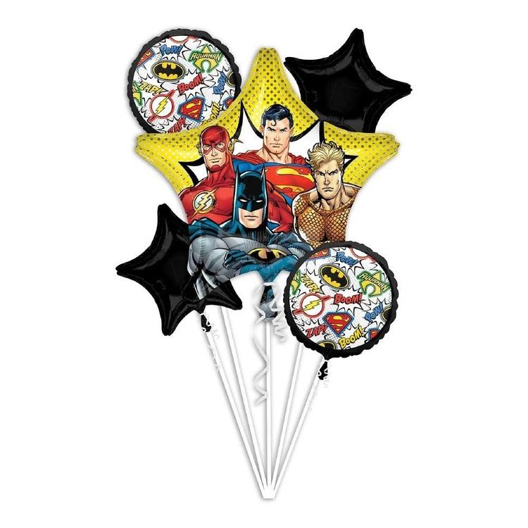 Anagram Justice League Balloon Bouquet