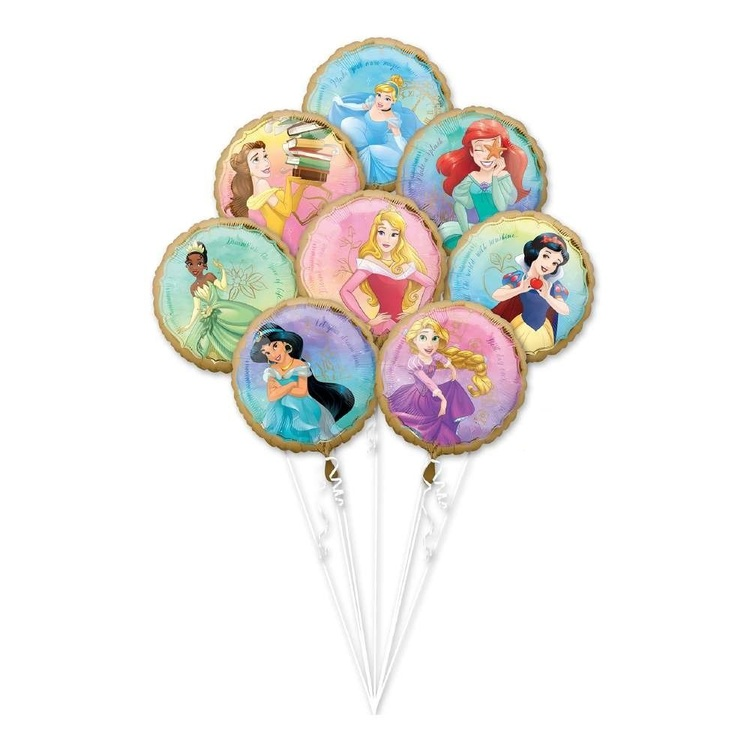 Anagram Disney Princess Balloon Bouquet