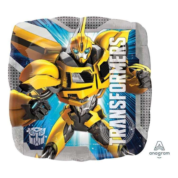 Anagram Square Transformers Foil Balloon