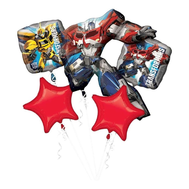 Anagram Transformers Balloon Bouquet