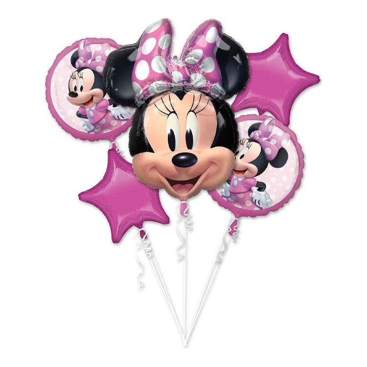 Anagram Minnie Mouse Forever Balloon Bouquet