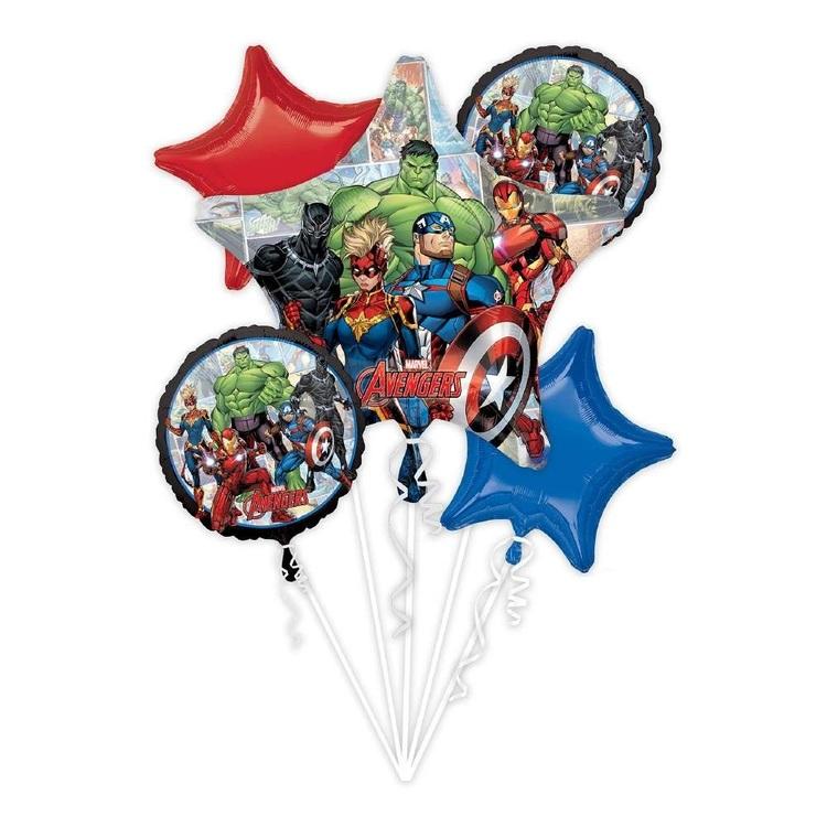 Anagram Avengers Marvel Powers Unite Balloon Bouquet