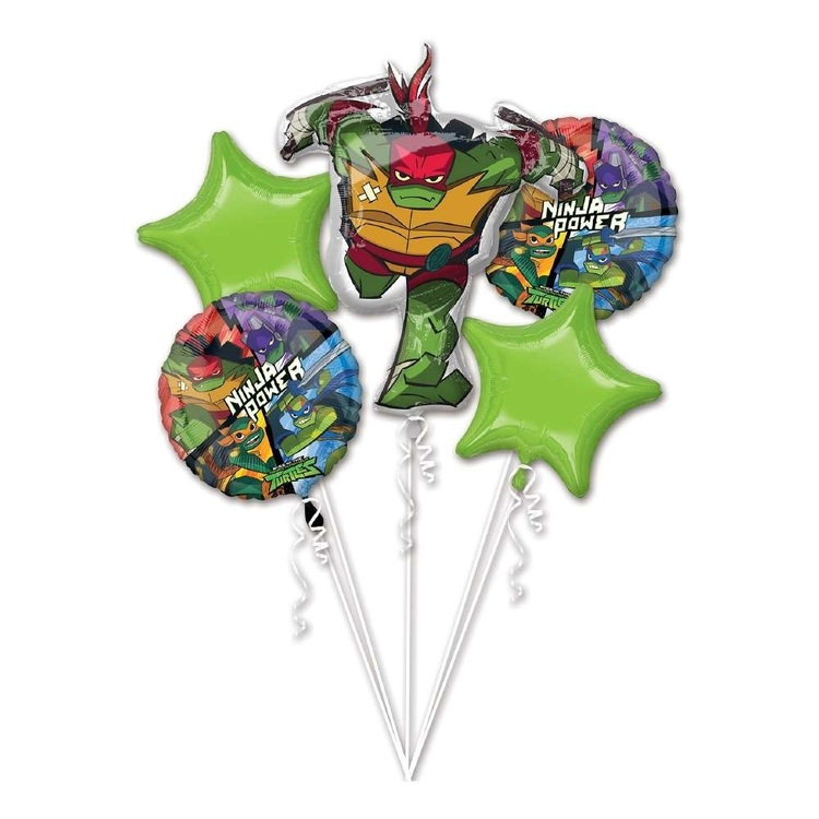 Anagram Rise Of TMNT Balloon Bouquet