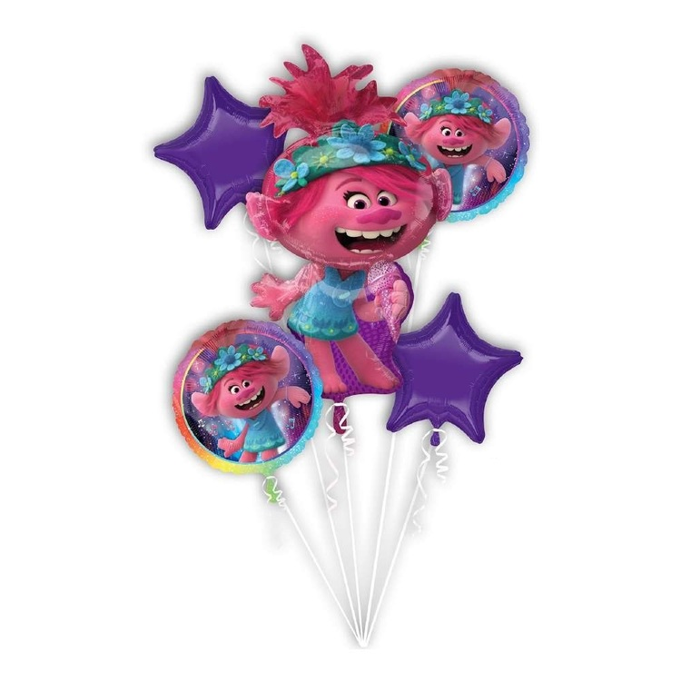 Anagram Trolls World Tour Balloon Bouquet