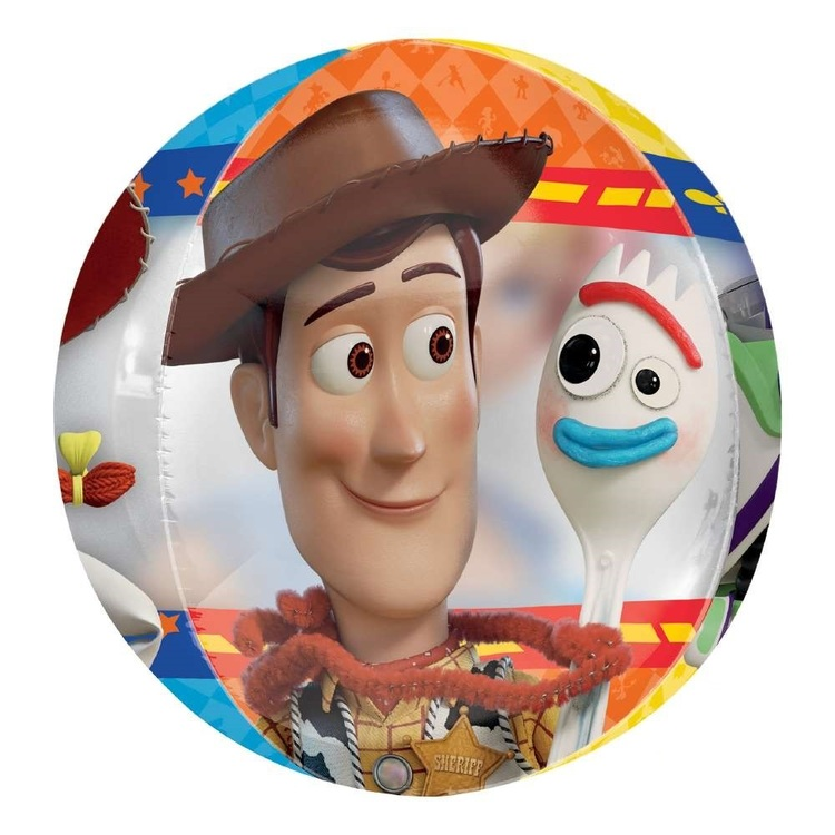 Anagram Toy Story 4 Clear Orbz Balloon