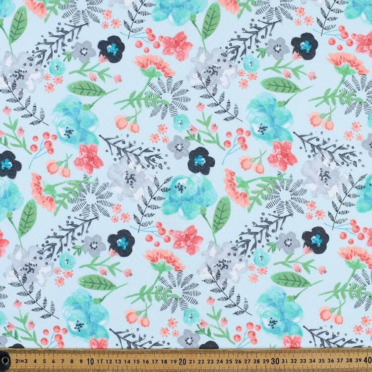 Alyana Floral Cotton Fabric