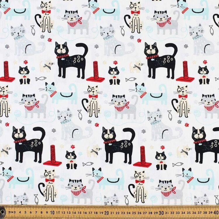 Kitten Fun Cotton Fabric