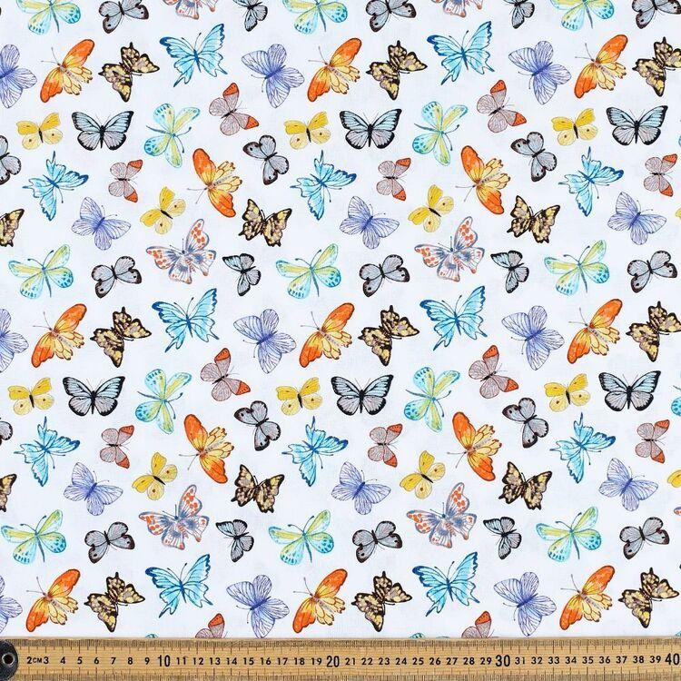 Beautiful Butterflies Cotton Fabric