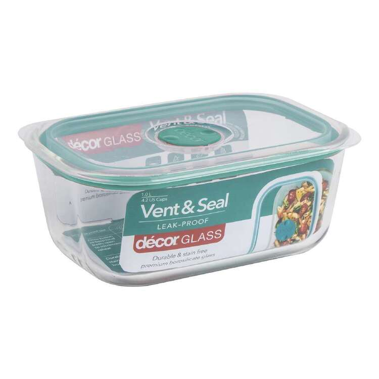 Decor Vent Seal 1L Oblong Container