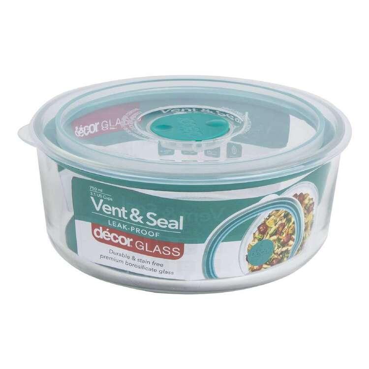 Decor Vent Seal 750 mL Round Container