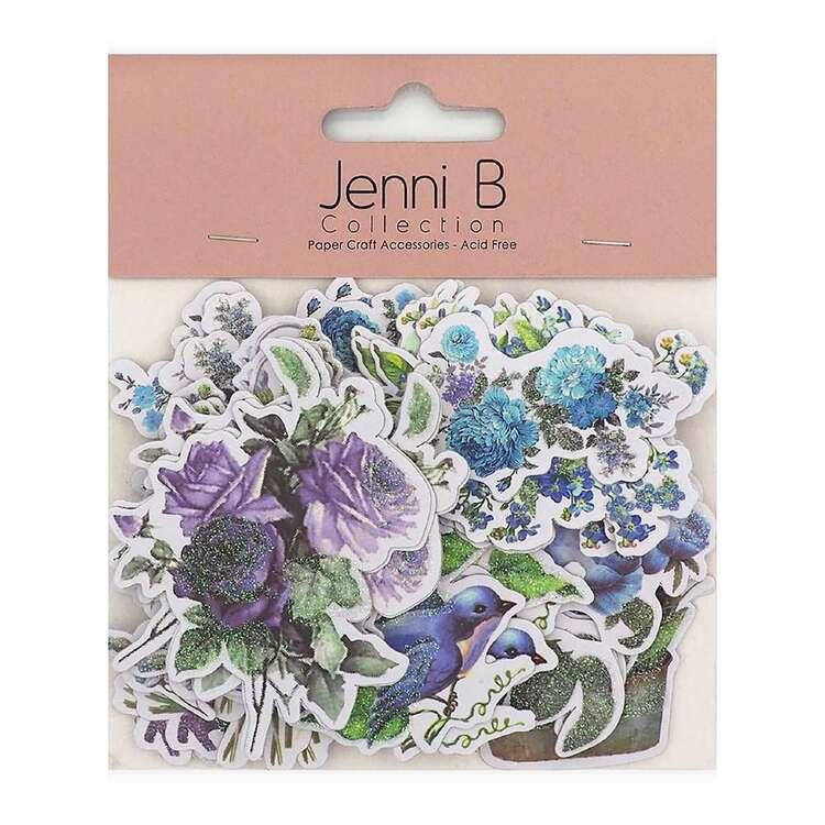 Jenni B Lavender Garden Die Cuts