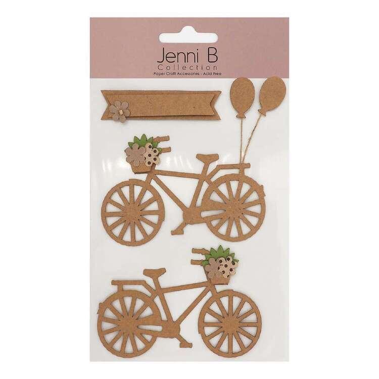 Jenni B Kraft Bicycle Stickers