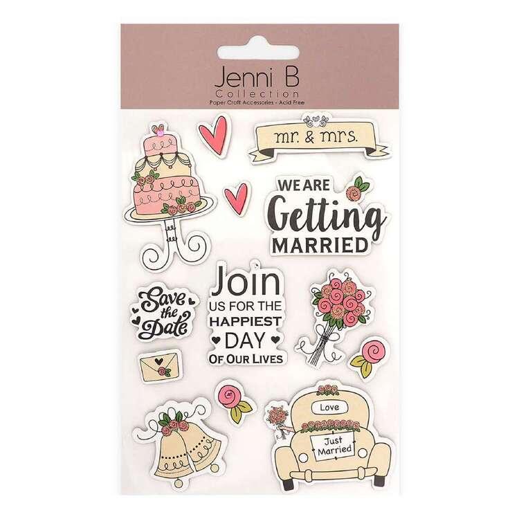 Jenni B Marriage Bells Stickers