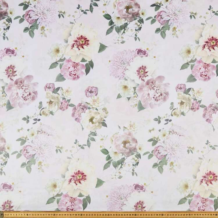 Galena Adoria 150 cm Printed Velvet Upholstery Fabric