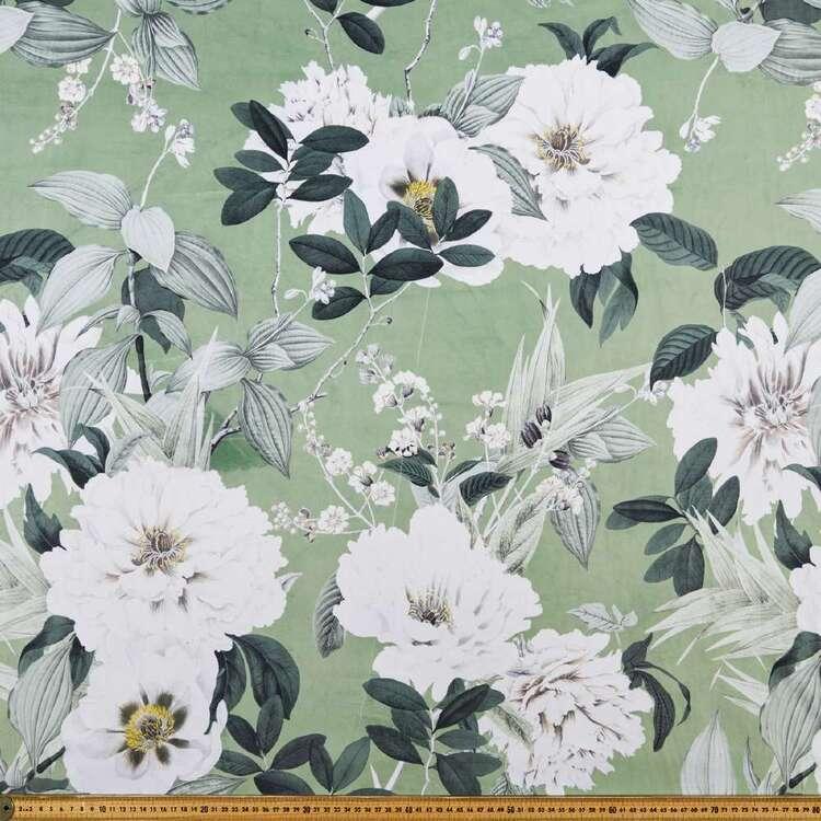 Galena Mila 150 cm Printed Velvet Upholstery Fabric