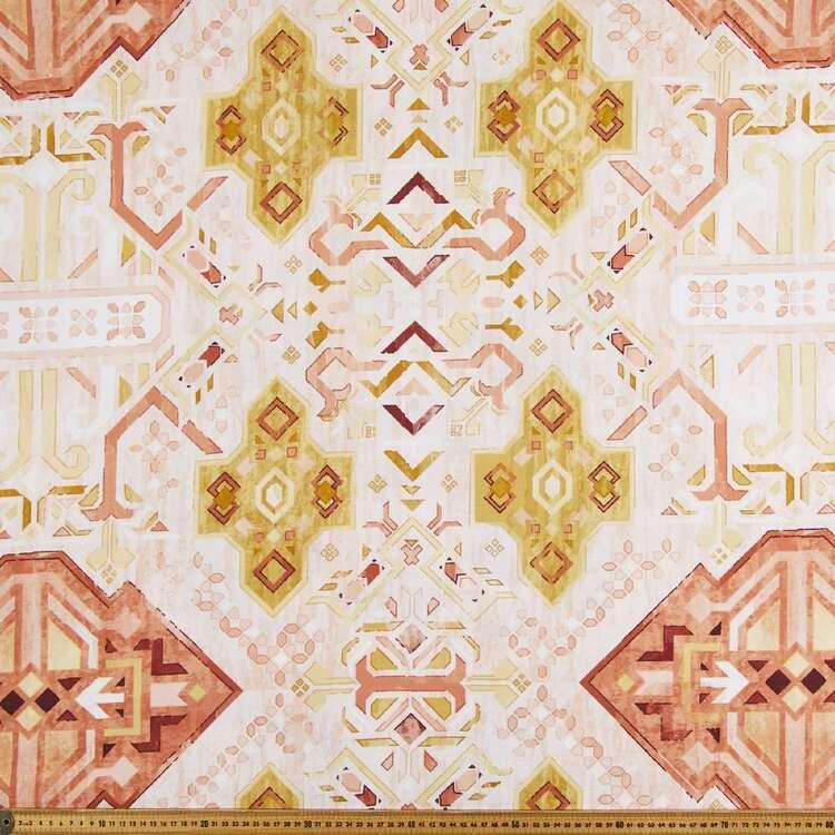 Tulum 150 cm Printed Cotton Canvas Fabric